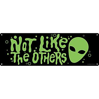 Grindstore Not Like The Others Slim Tin Sign