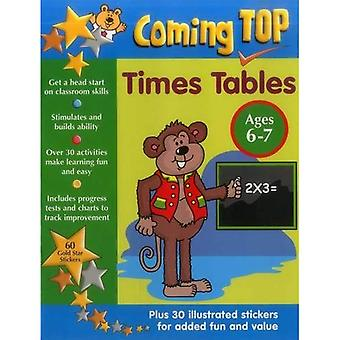 Coming Top: Times Tables -a� Ages 6-7