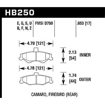 Hawk Performance HB250F. 653 HPS