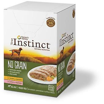 True Instinct Multi Pack medium/Maxi (Pollo y laks) (hunde, mad, pasta)