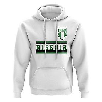 Nigeria Core Football Country Hoody (White)