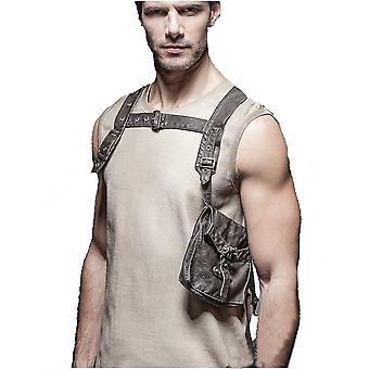 Punk rave - aviator harness - body pocket bag