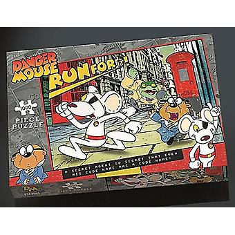 Danger Mouse Run For il 1000 piece jigsaw puzzle (pl)