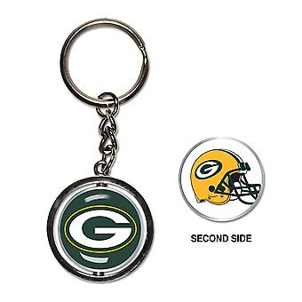 Wincraft SPINNER nyckelring-NFL Green Bay Packers