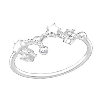July-Leo Constellation - 925 Sterling Silver Jewelled Rings - W38595X
