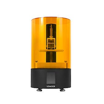 Langere orange120 2k UV LCD 3D-printer met 120x68x150mm build volume 2.8 inch full color touch-screen ondersteuning offline printen