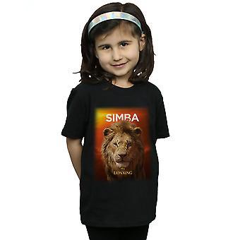 Disney Girls The Lion King Movie Adult Simba Poster T-Shirt