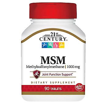 21st century msm, 1000 mg, tablets, 90 ea