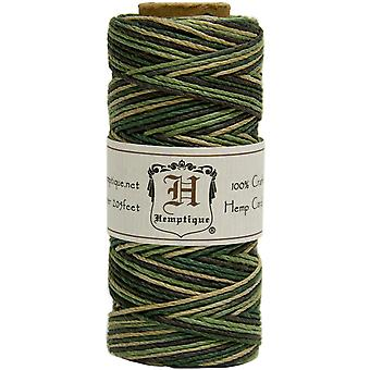 Hemp Cord Spool Variegated 20# 205 Feet Pkg Camo Hsv20 9367