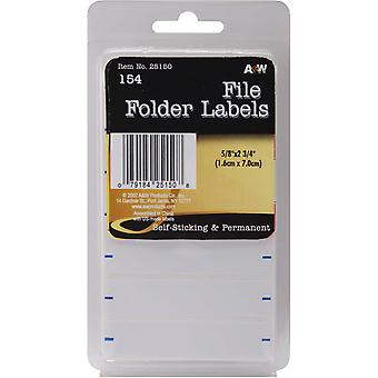 Labels File Folder .625