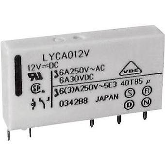 PCB relays 5 Vdc 6 A 1 change-over Fujitsu FTR-LYC