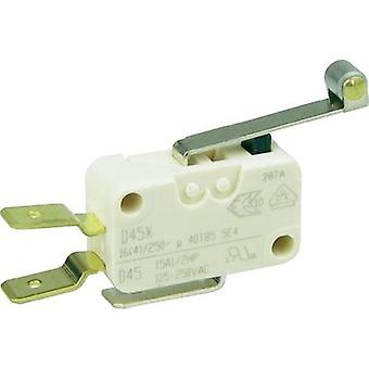 Microswitch 250 Vac 16 A 1 x On/(On) Cherry Switches D459-V3RD momentary 1 pc(s)
