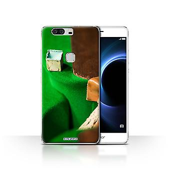 STUFF4 Case/Cover for Huawei Honor V8/Chalk/Pocket/Snooker