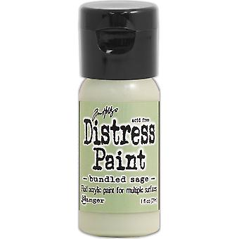 Distress Paint Flip Cap 1oz-Bundled Sage TDF-52975