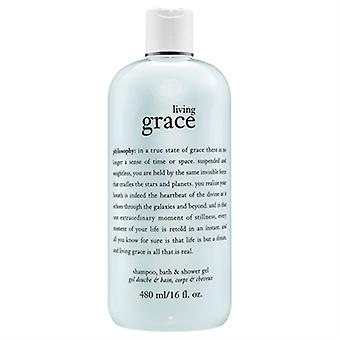 La philosophie vivante Grace douche Gel 16 oz / 480ml