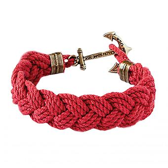 Kiel James Patrick Narragansett lifeguard chairs anchor bracelet red ladies men's jewelry