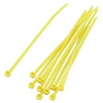 KSS , 100 pc(s) Pack Yellow Cable Ties, x