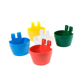 Supa Poultry Cage Cups Various Colours (Pack of 12)