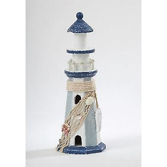 Wooden Lighthouse Decorative Ornament Gift for Sea Lovers