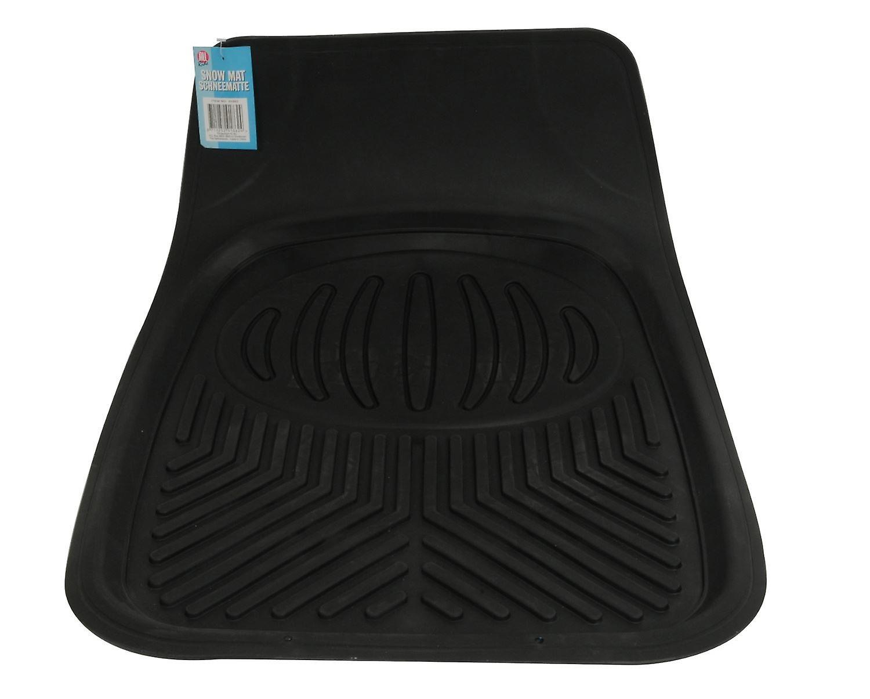 Car Snow Mat Black Rubber Mud Dirt Floor Protector 70x50cm