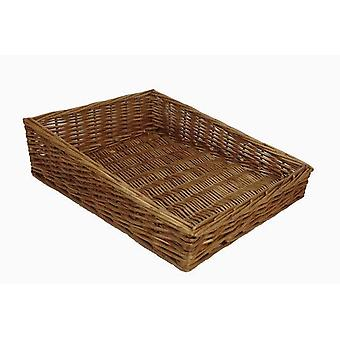 Medium Flat Display Wicker Tray