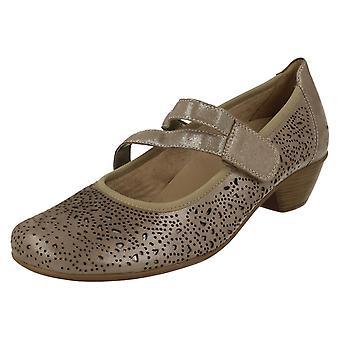 Las señoras retan bloque tacón zapatos D5006