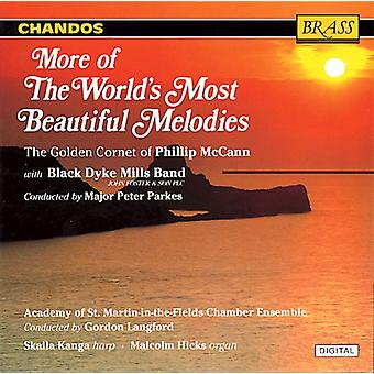 World's Most Beautiful Melodie - More of the World's Most Beautiful Melodies [CD] USA import
