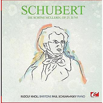 Schubert - Die Schone Mullerin Op. 25 D.795 [CD] USA import