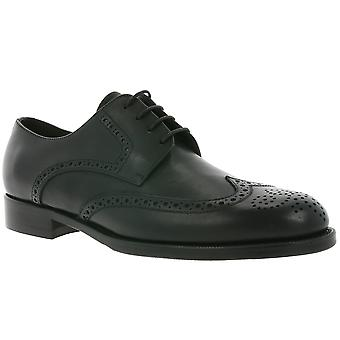 John Baker BB´s Brogue made in Italy shoes men's genuine leather shoes black TC138
