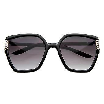 Designer Inspired Oversized Retro Sunglasses