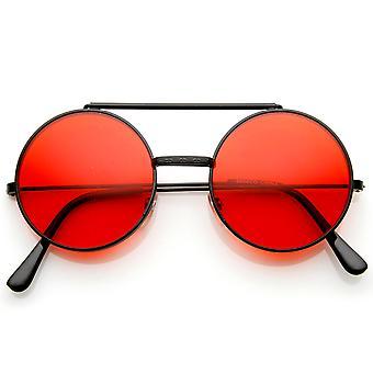 Ограниченное издание цвет флип вверх объектив круглый круг Django солнцезащитные очки