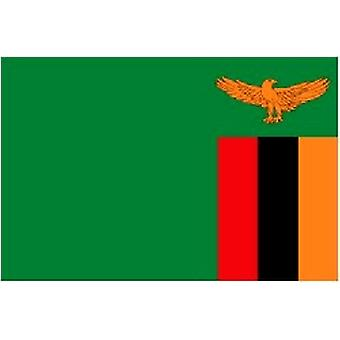 Zambia Flag 5ft x 3ft With Eyelets