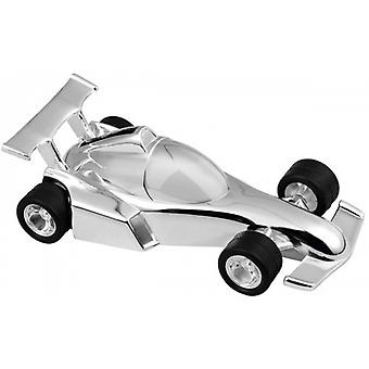 Orton West Racing voiture tirelire - Silver