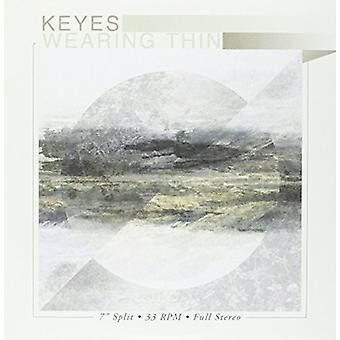 Keyes / iført tynde - Keyes / iført tynde-Split EP (grøn V [Vinyl] USA import
