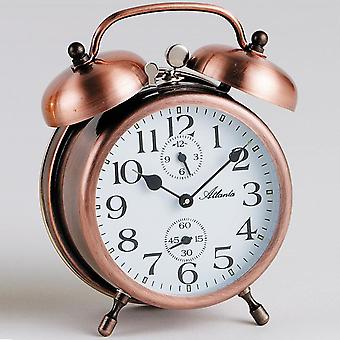 nostalgic alarm clock copper mechanical double Bell alarm clock