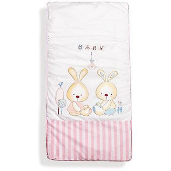Interbaby Coordinated 3 Piece Bunny Baby Bag Model Rosa