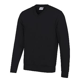 AWDis Academy Mens V Neck Jumper/Sweatshirt