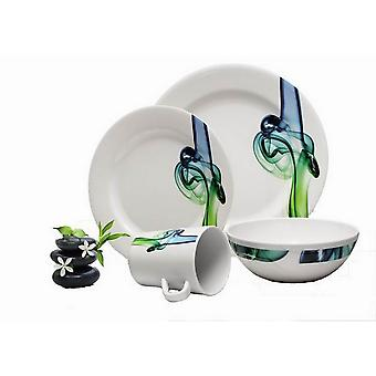 Reimo Lucca Melamine Dinner Set (16 Piece)