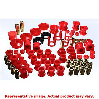 Energy Suspension Hyper-Flex System 7.18106R Red Fits:NISSAN 1989 - 1990 240SX