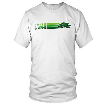 Irish I Had Beer St Patricks Day Kids T Shirt