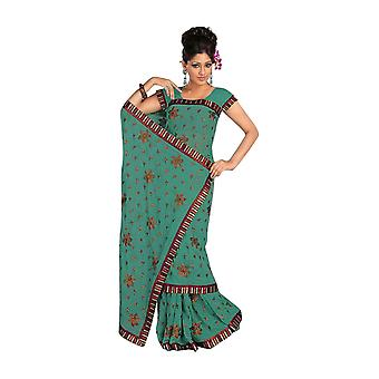Angarika Rama Georgette Designer Party tragen Sari saree