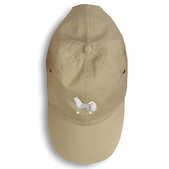 Carolines Treasures  BB3443BU-156 Chinese Crested Embroidered Baseball Cap