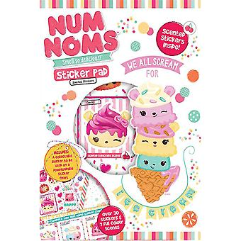 Num Noms Sticker Pad Childrens Activity Stickers
