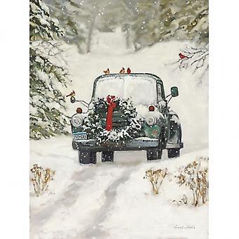 Impression Poster Winter Park par Bonnie Mohr (12 x 16)