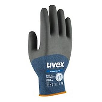 Uvex 60062 Size 10 Phynomic Pro Blue/Black Gloves