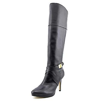 Marc Fisher Womens Tracey Almond Toe Knee High Fashion Boots