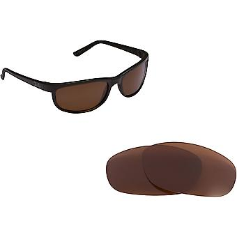 RB Predator 2027 Replacement Lenses Polarized Brown B-15 by SEEK fits RAY BAN