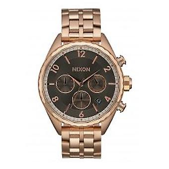 Nixon The Minx Chrono All Rose Gold / Gunmetal (A9932046)