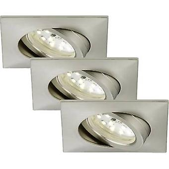 LED flush mount light 3-piece set 15 W Warm white Briloner