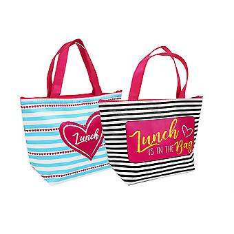 Lunch Bag Set of 2 Insulated Lunch Bags Waterproof Lunch Bag Picnic School Bag